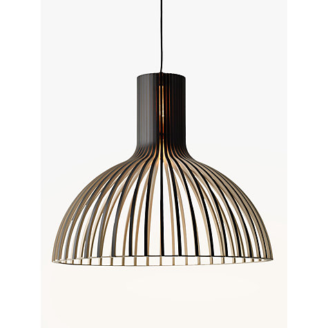 Buy Secto Octo Ceiling Light, Black Online at johnlewis.com