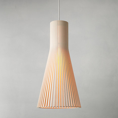 Buy Secto Ceiling Light, Birch Online at johnlewis.com