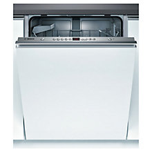 Buy Bosch SMV53A00GB Integrated Dishwasher Online at johnlewis.com