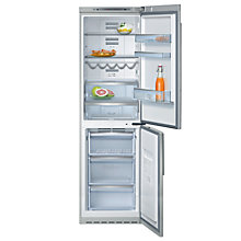 Buy Neff K5885X4GB Freestanding Fridge Freezer, Stainless Steel Online at johnlewis.com