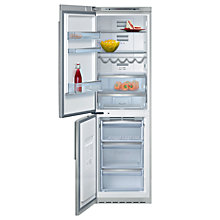 Buy Neff K5886X4GB Freestanding Fridge Freezer, Stainless Steel Online at johnlewis.com