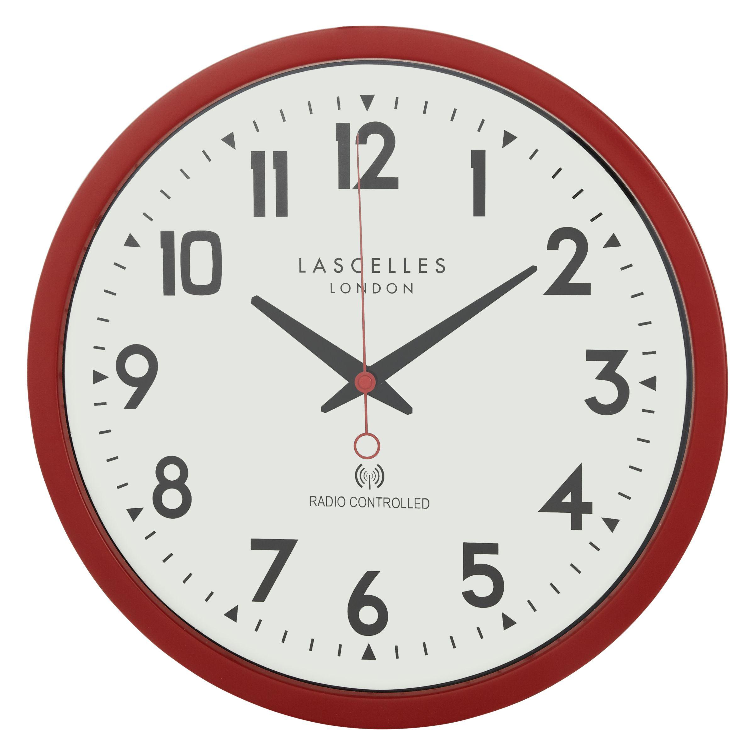Lascelles Lascelles Radio Controlled Wall Clock