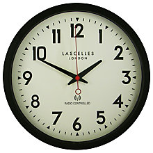 Buy Lascelles Radio Controlled Wall Clock Online at johnlewis.com