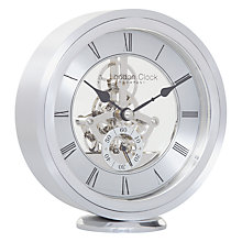 Buy London Clock Company Round Carriage Clock, Silver Online at johnlewis.com