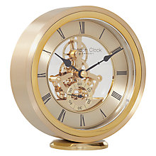Buy London Clock Round Carriage Clock, Gold Online at johnlewis.com