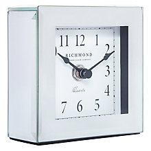 Buy London Clock Company Square Mirror Clock Online at johnlewis.com