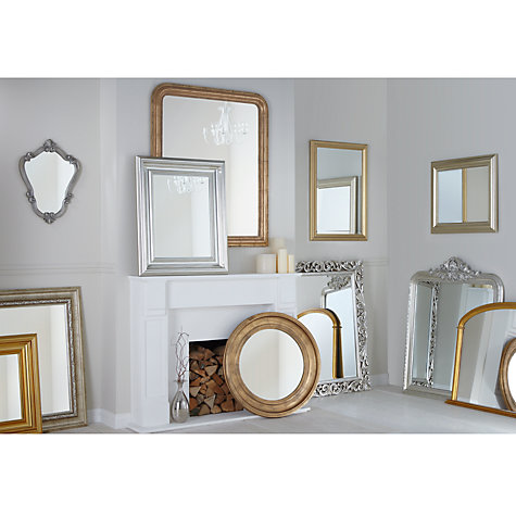 Buy John Lewis Bead Mirror, Champagne, 120 x 94cm Online at johnlewis.com