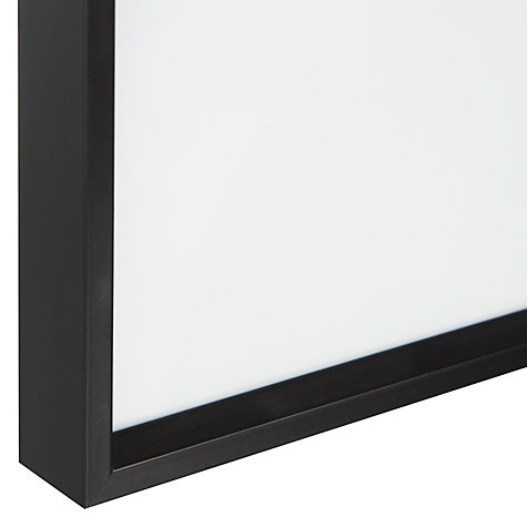 "Buy House by John Lewis Wall Photo Frame, Matt Black, 18 x 24"" (45 x 60cm) Online at johnlewis.com"