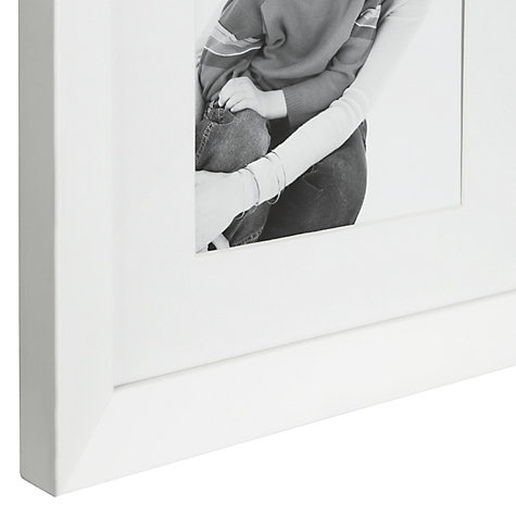 "Buy John Lewis Wall Multi-aperture Frame, White, 4 Photo,  5 x 7"" (13 x 18cm) Online at johnlewis.com"