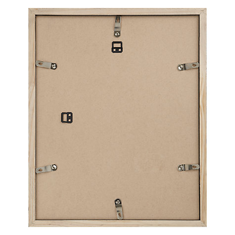 "Buy John Lewis Wall Photo Frame, Birch, 16 x 20"" (40 x 50cm) Online at johnlewis.com"