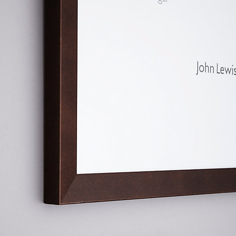 Buy John Lewis Photo Frame, Chocolate, (24 x 30cm) Online at johnlewis.com