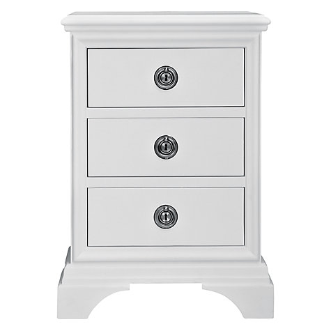 Buy John Lewis Aurelia 3 Drawer Bedside Chest Online at johnlewis.com