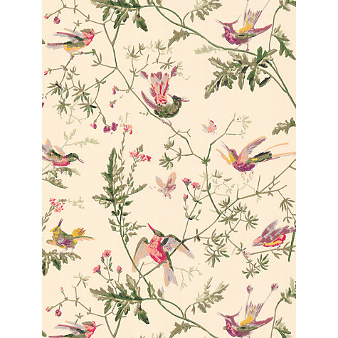Buy Cole & Son Hummingbirds Wallpaper Online at johnlewis.com