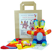 Buy Sock Creatures Sock Bunny Kit Online at johnlewis.com