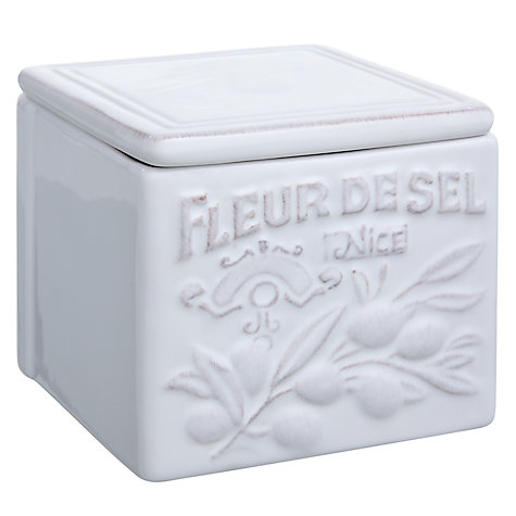 Buy Brissi Provence Fleur De Sel Salt Storage Jar Online at johnlewis.com
