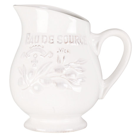 Buy Brissi Provence Eau de Source Water Jug Online at johnlewis.com