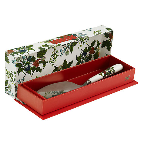 Buy Portmeirion The Holly and The Ivy Cake Slice Online at johnlewis.com