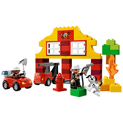Buy LEGO DUPLO My First Fire Station Online at johnlewis.com