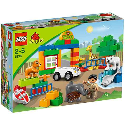 Buy LEGO DUPLO My First Zoo Online at johnlewis.com
