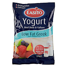 Buy Easiyo Yogurt Maker Mix Sachet, Low Fat Greek Style Online at johnlewis.com