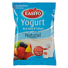 Buy Easiyo Yogurt Maker Mix Sachet, Natural Online at johnlewis.com