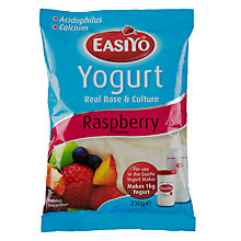 Buy Easiyo Yogurt Maker Mix Sachet, Raspberry Online at johnlewis.com