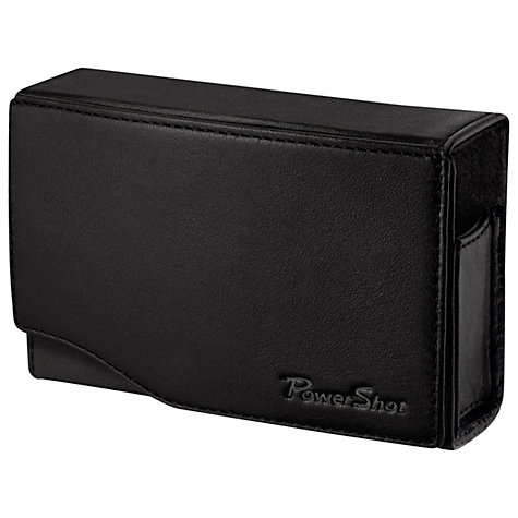 Buy Canon DCC-1500 Soft Leather Camera Case, Black Online at johnlewis.com