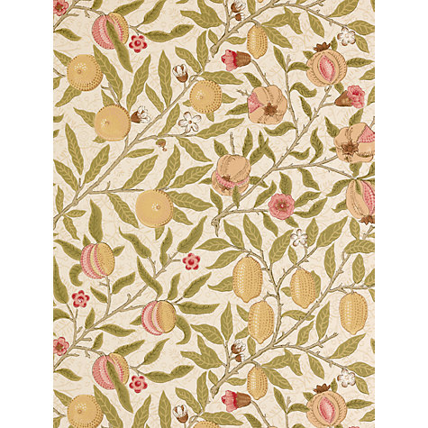 Buy Sanderson Wallpaper, Morris & Co Fruit Online at johnlewis.com