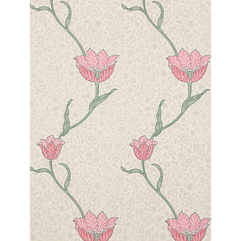 Buy Sanderson Wallpaper, Morris & Co Garden Tulip Online at johnlewis.com
