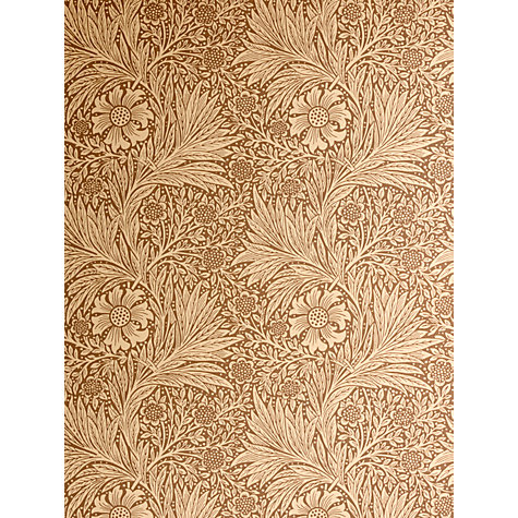 Buy Sanderson Wallpaper, Morris & Co Marigold Online at johnlewis.com