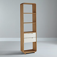 Buy Ebbe Gehl for John Lewis Mira 2 Drawer Bookcase, Narrow Online at johnlewis.com