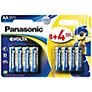 Panasonic EVOLTA LR6EGE/12BW AA Alkaline Batteries, 12 pack