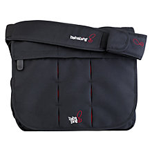 Buy BabaBing Daytripper Deluxe Paternity Satchel, City Black Online at johnlewis.com