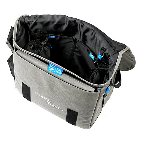 Buy BabaBing Deluxe Daytripper Paternity Satchel, Grey Online at johnlewis.com