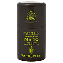 Buy Truefitt & Hill No.10 Pre-Shave Gel Skin Protector, 50ml Online at johnlewis.com
