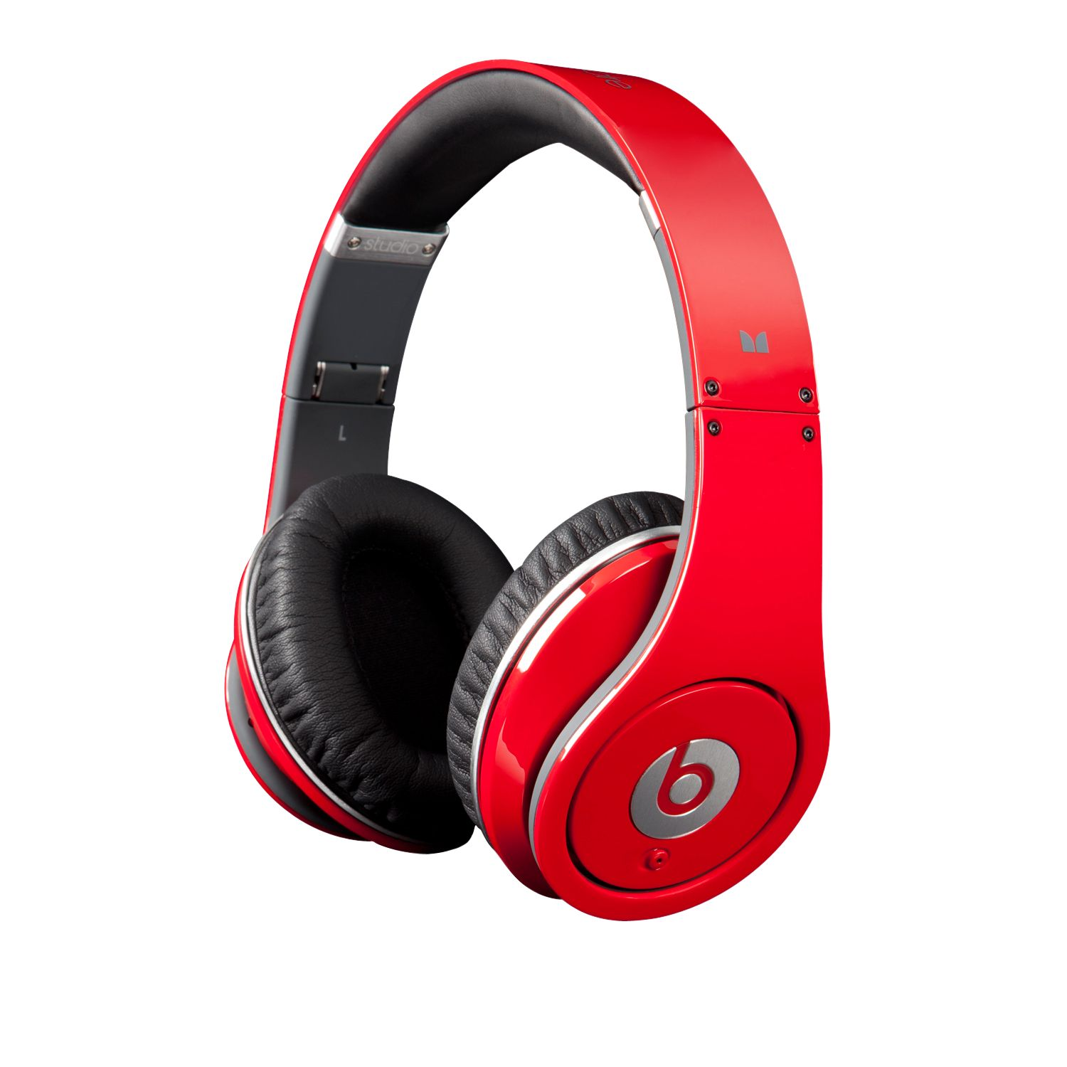 Monster Beats by Dr. Dre Studio Full-Size HD Headphones with ControlTalk, Red