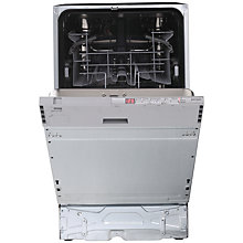 Buy John Lewis JLBIDW902 Integrated Slimline Dishwasher, White Online at johnlewis.com