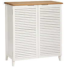 Buy John Lewis Scandi Bathroom Double Towel Cupboard Online at johnlewis.com