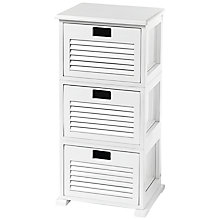 Buy John Lewis Scandi Three Drawer Unit Online at johnlewis.com