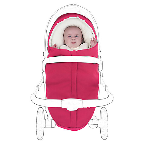 Buy Silver Cross Surf Snug, Pink Online at johnlewis.com