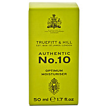 Buy Truefitt & Hill No.10 Optimum Moisturiser, 50ml Online at johnlewis.com