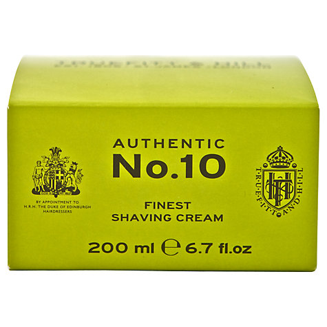 Buy Truefitt & Hill No.10 Finest Shaving Cream, 200ml Online at johnlewis.com