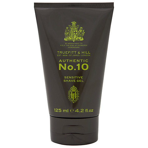 Buy Truefitt & Hill No.10 Sensitive Shave Gel, 125ml Online at johnlewis.com