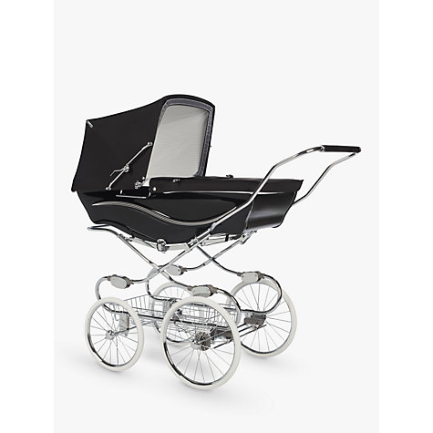 Buy Silver Cross Kensington Pram, Black Online at johnlewis.com