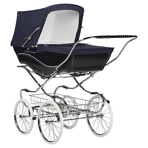 Buy Silver Cross Pioneer Pushchair Exclusive Package, Black Links ...