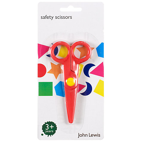 Buy John Lewis Safety Scissors Online at johnlewis.com