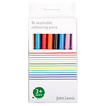 Buy John Lewis Colouring Pens, Pack of 16 Online at johnlewis.com