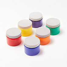 Buy John Lewis Finger Paints, Pack of 6 Online at johnlewis.com