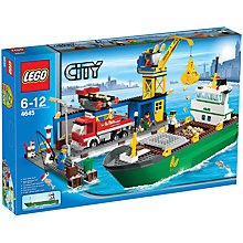 Buy Lego City Harbour Online at johnlewis.com