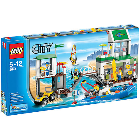 Buy LEGO City Prison Island Online at johnlewis.com